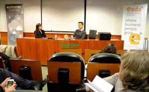 Tomás Diago fue invitado el pasado mes de febrero por la comunidad de Business and Technology de EADA para hablar sobre el modelo de negocio de Softonic.