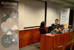 El fundador de Softonic accedió a las preguntas de los Alumni de EADA sobre el sector online y la irrupción de nuevas tecnologías.