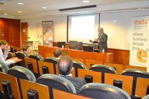 La comunidad de Business ¬ Technology de EADA Alumni invitó a Federico Flórez, director general de Sistemas de Información e Innovación de Ferrovial.