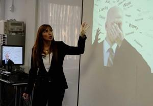 Mónica Mendoza, experta en marketing y ventas, participó en Be Marketing Day 2014 con la conferencia 'Técnicas de automoción para vendedores'.
