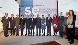 El año pasado Giorgia Miotto fue la presidenta del jurado de los 'Premios Seres 2014 a la Innovación y el Compromiso Social de la Empresa'.