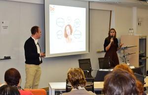 Los profesores asociados de EADA Daniel Wuhl y Bárbara Muñoz hablaron en Be Finance Day 2015 sobre las alternativas de financiación a la banca.