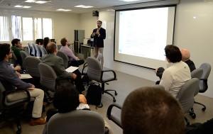 Xavier Balius, jefe del área de Ciencias, Medicina y Tecnología del Centro de Alto Rendimiento del CAR Sant Cugat, participó en la pasada edición de Be Marketing Day.