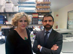 En la imagen, Ignasi Heras junto a la doctora Carmen Peralta, cofundadora de Transplant Biomedicals.